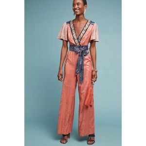 NWT Anthropologie Jumpsuit size 12